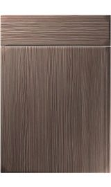 unique winwick brown grey avola kitchen door