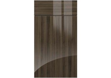 Gravity Ultragloss Jacaranda kitchen door