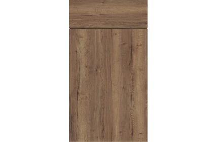 Gravity Gladstone Tobacco Oak kitchen door