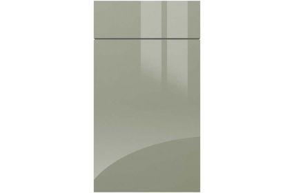 Gravity Metallic Blue kitchen door