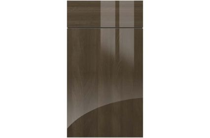 Gravity Ultragloss Mira Cosa kitchen door