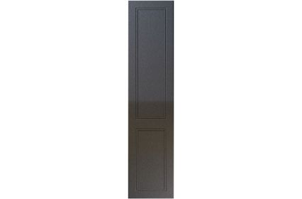 Unique Ascot High Gloss Anthracite Sparkle bedroom door