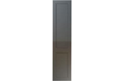 Unique Ascot High Gloss Graphite bedroom door
