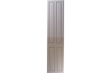 Unique Benwick High Gloss Dust Grey bedroom door