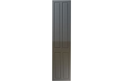 Unique Benwick High Gloss Graphite bedroom door
