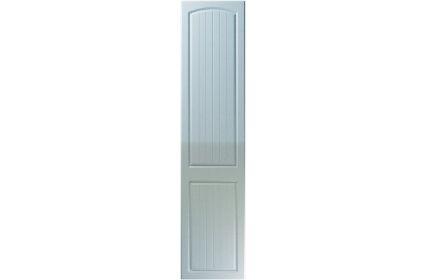 Unique Cottage High Gloss Blue Sparkle bedroom door