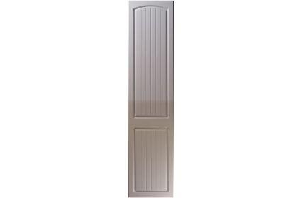 Unique Cottage High Gloss Dust Grey bedroom door