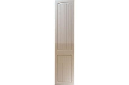 Unique Cottage High Gloss Stone Grey bedroom door