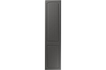 Unique Cottage Super Matt Graphite bedroom door