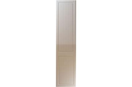 Unique Willingdale High Gloss Stone Grey bedroom door