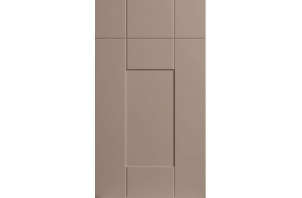 Bella Warwick Matt Cashmere kitchen door