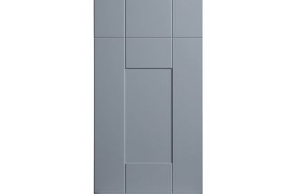 Bella Warwick Matt Denim kitchen door
