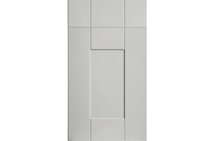 Bella Warwick Oakgrain Grey kitchen door