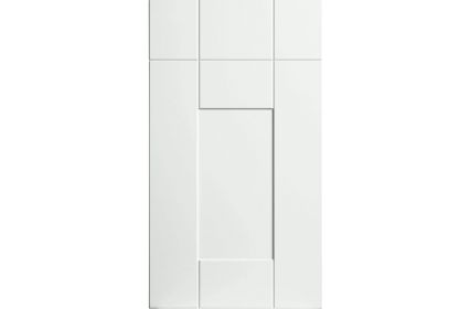 Bella Warwick Super White Ash kitchen door