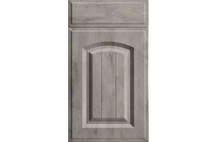 Bella Westbury London Concrete kitchen door