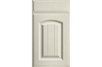 Bella Westbury Oakgrain Mussel kitchen door