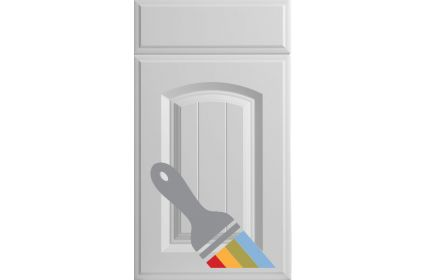 Bella Westbury Paintable Vinyl kitchen door