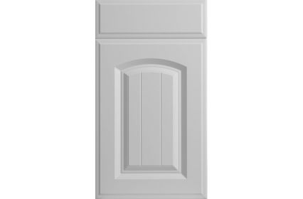 Bella Westbury Porcelain White kitchen door