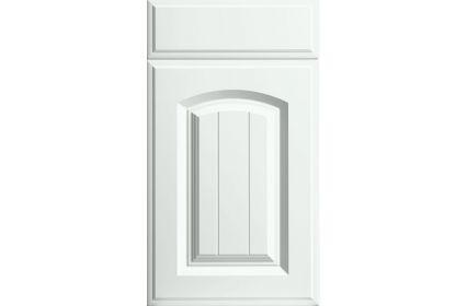 Bella Westbury Super White Ash kitchen door