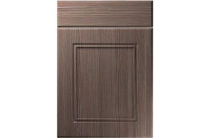 Unique Ascot Brown Grey Avola kitchen door