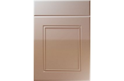 Unique Ascot High Gloss Cappuccino kitchen door