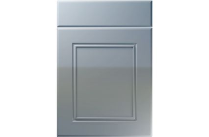 Unique Ascot High Gloss Denim kitchen door