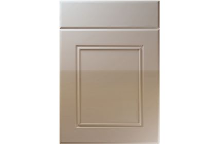 Unique Ascot High Gloss Stone Grey kitchen door