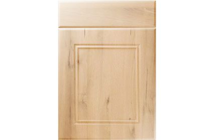Unique Ascot Iconic Beech kitchen door