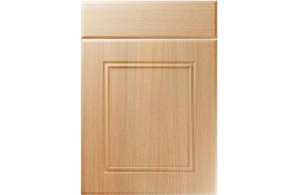 Unique Ascot Light Ferrara Oak kitchen door