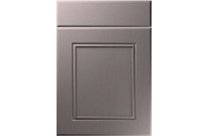 Unique Ascot Painted Oak Dust Grey kitchen door