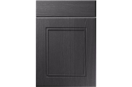 Unique Ascot Painted Oak Graphite kitchen door