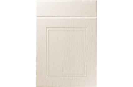 Unique Ascot Painted Oak Ivory kitchen door