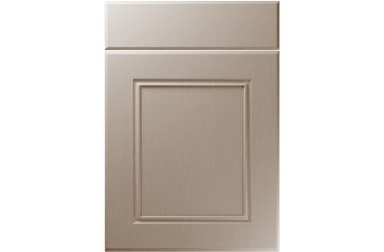 Unique Ascot Painted Oak Stone Grey kitchen door