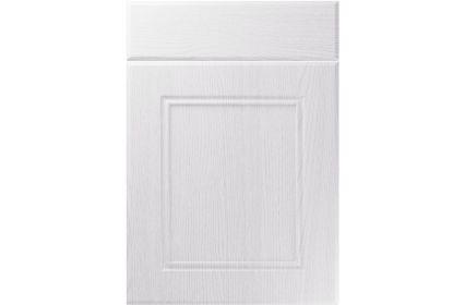 Unique Ascot Painted Oak White kitchen door