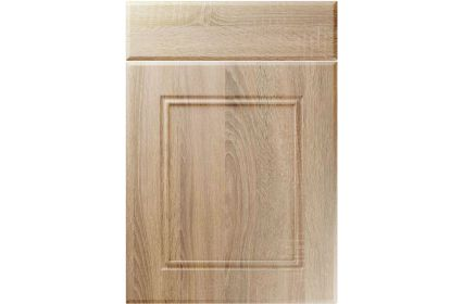 Unique Ascot Sonoma Oak kitchen door