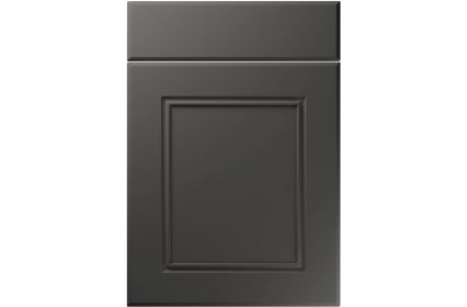 Unique Ascot Super Matt Graphite kitchen door