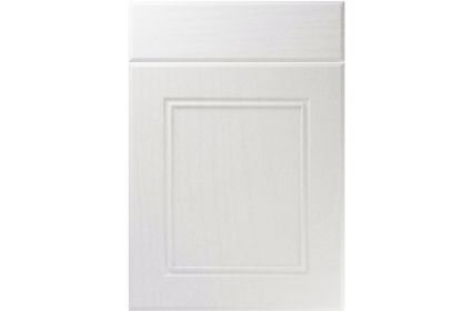 Unique Ascot Super White Ash kitchen door