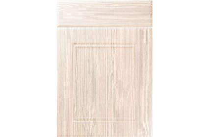 Unique Ascot White Avola kitchen door