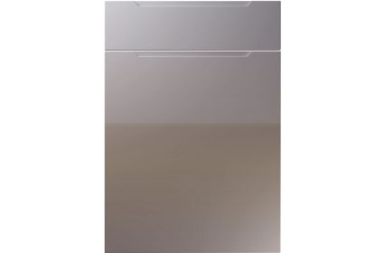 Unique Avienda High Gloss Dust Grey kitchen door