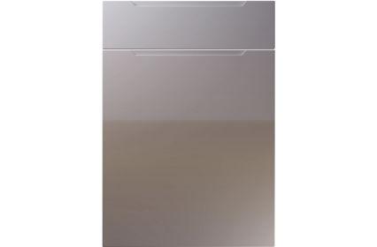 Unique Avienda High Gloss Dust Grey kitchen door