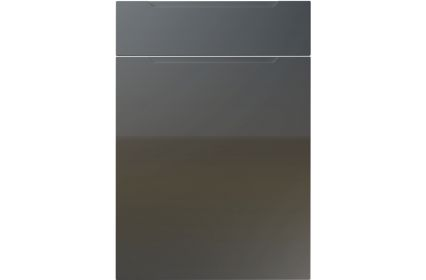 Unique Avienda High Gloss Graphite kitchen door
