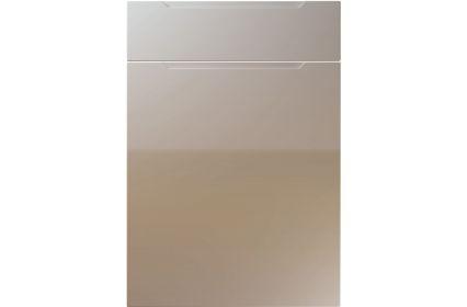 Unique Avienda High Gloss Stone Grey kitchen door
