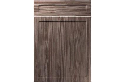 Unique Balmoral Brown Grey Avola kitchen door