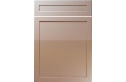 Unique Balmoral High Gloss Cappuccino kitchen door