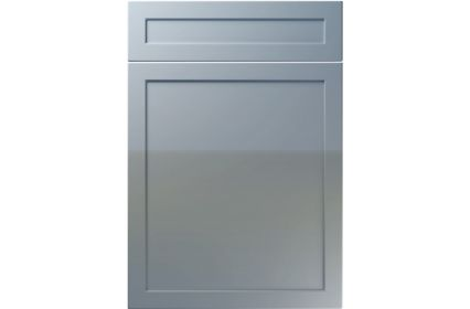 Unique Balmoral High Gloss Denim kitchen door