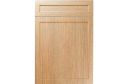 Unique Balmoral Light Ferrara Oak kitchen door