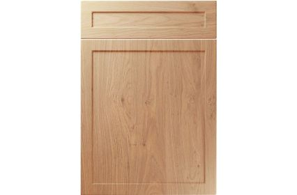Unique Balmoral Light Winchester Oak kitchen door