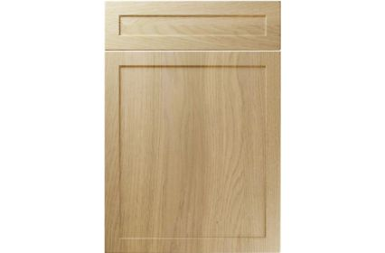 Unique Balmoral Lissa Oak kitchen door
