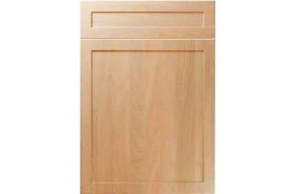 Unique Balmoral Montana Oak kitchen door