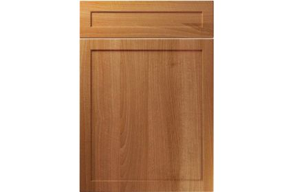 Unique Balmoral Natural Aida Walnut kitchen door